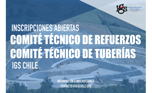 Comité técnico de Refuerzos y Comité técnico de Tuberías