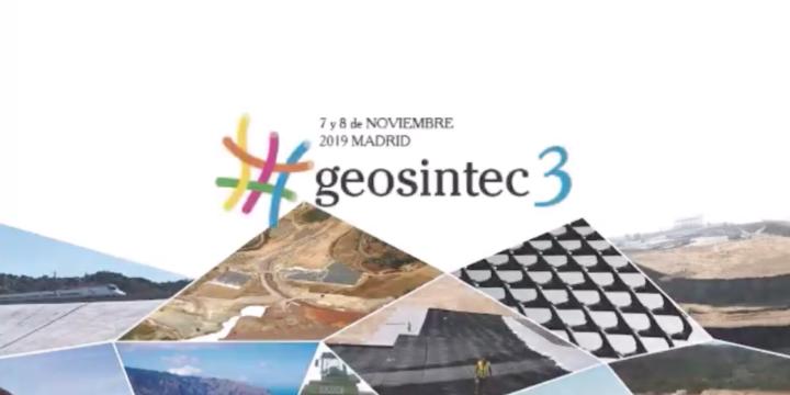 Charlas del 3er Congreso Nacional de Geosintéticos, Geosintec 3