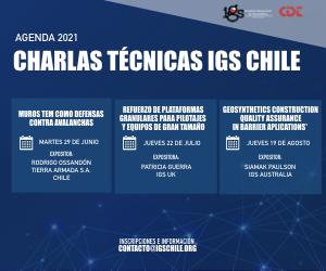 Agenda Charlas Técnicas 2021