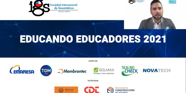 """Concluye con éxito el primer programa """"Educando Educadores""""  realizado en Chile"""
